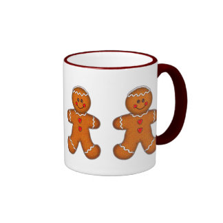 GINGERBREAD BOY COOKIE by SHARON SHARPE Coffee Mugs