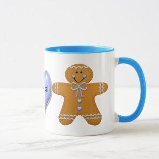 Gingerbread Boy Mug ~ Customize with Name