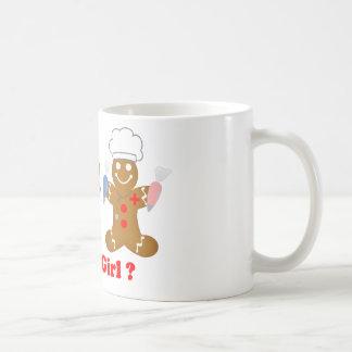 Gingerbread Boy or Girl Mugs