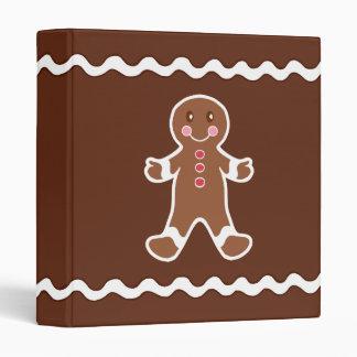 Gingerbread Boy Scrapbook Binder