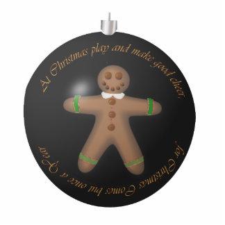 Gingerbread Boy Statuette
