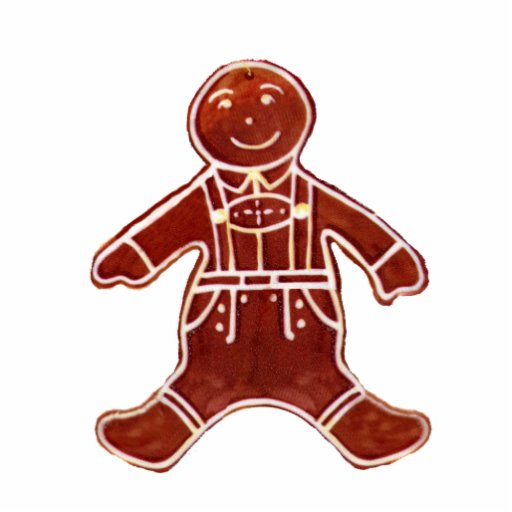 Gingerbread Boy The MUSEUM Zazzle Gifts Acrylic Cut Outs