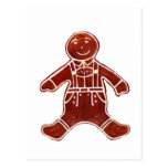 Gingerbread Boy The MUSEUM Zazzle Gifts Postcard