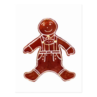 Gingerbread Boy The MUSEUM Zazzle Gifts Postcards