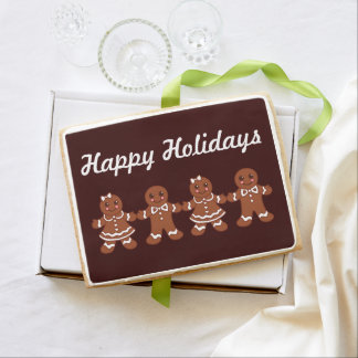 Gingerbread Boys Girls Holiday Cookie Dessert Gift
