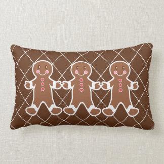 Gingerbread Boys Pillow