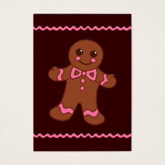 Gingerbread Business Card
