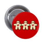 Gingerbread Button