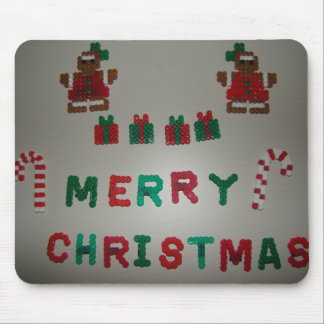 Gingerbread&Candy Cane Christmas Mouse Pad