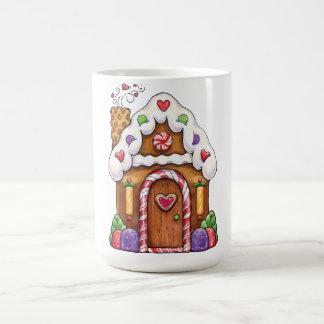 Gingerbread Candy House Cottage Coffee Mug