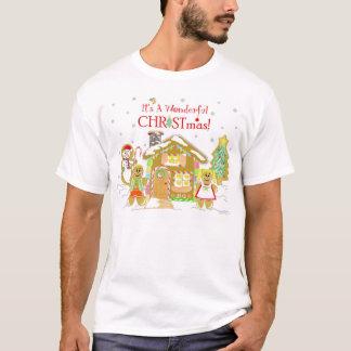 Gingerbread Candyland T-shirt - Guys