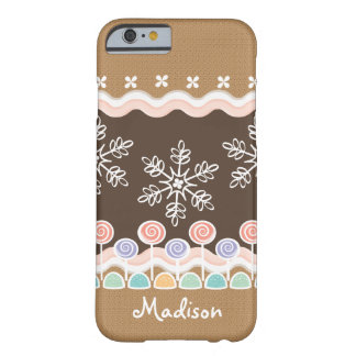 Gingerbread Candyland Winter Wonderland Barely There iPhone 6 Case