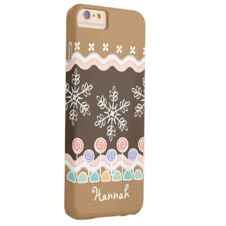 Gingerbread Candyland Winter Wonderland Barely There iPhone 6 Plus Case