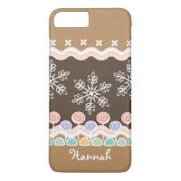 Gingerbread Candyland Winter Wonderland iPhone 8 Plus/7 Plus Case