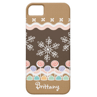 Gingerbread Candyland Winter Wonderland iPhone SE/5/5s Case
