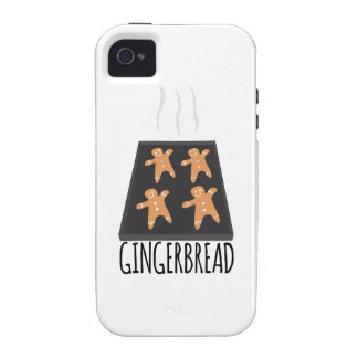 Gingerbread Case-Mate iPhone 4 Cases