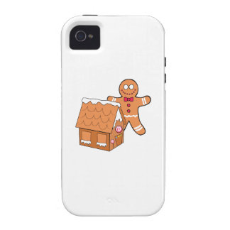 Gingerbread Case-Mate iPhone 4 Cover