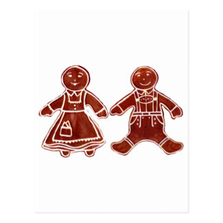 Gingerbread Children 2 The MUSEUM Zazzle Gifts Postcards