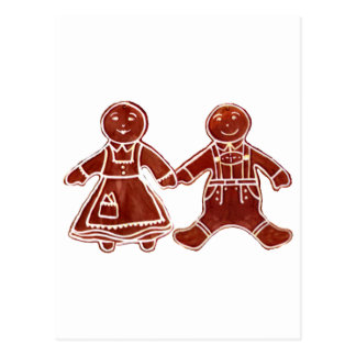 Gingerbread Children 3 The MUSEUM Zazzle Gifts Post Card