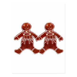 Gingerbread Children Boys The MUSEUM Zazzle Gifts Postcard