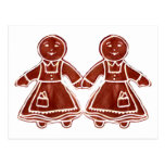 Gingerbread Children Girls The MUSEUM Zazzle Gifts Postcard