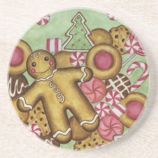 Gingerbread Christmas Coaster