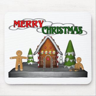 Gingerbread Christmas Mouse Mats
