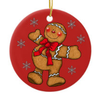 Gingerbread Christmas Ornament Decoration