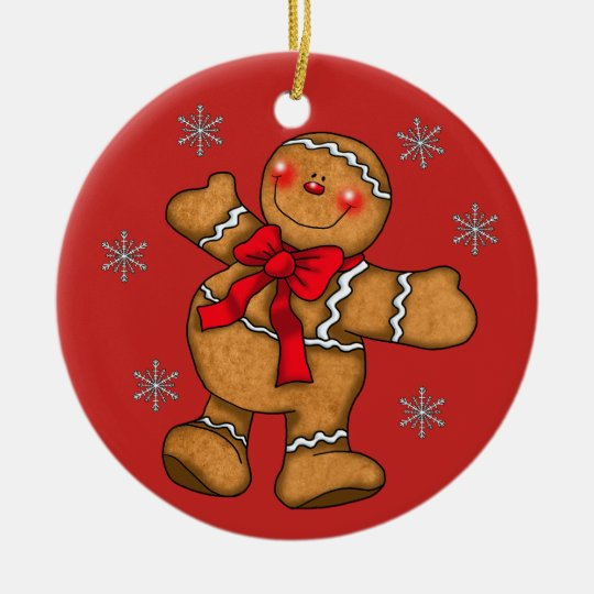 Gingerbread Christmas Ornament Decoration - Gingerbread Christmas Ornament Decoration Zazzle.com