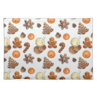 Gingerbread Christmas Scent Cloth Placemat