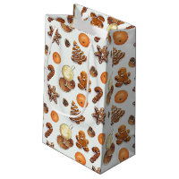 Gingerbread Christmas Scent Small Gift Bag