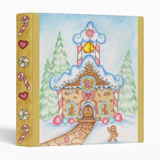 Gingerbread Church Binder