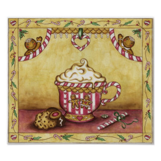 Gingerbread Coffee Poster