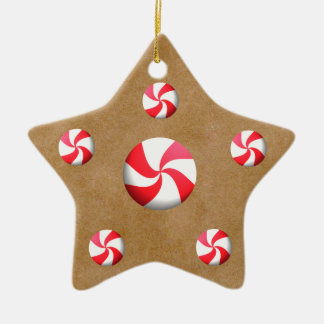 Gingerbread Cookie Candies Christmas Ornaments