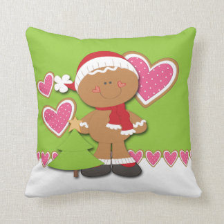 Gingerbread Cookie Christmas Pillows