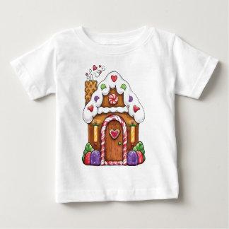 Gingerbread Cookie House Tee Shirt