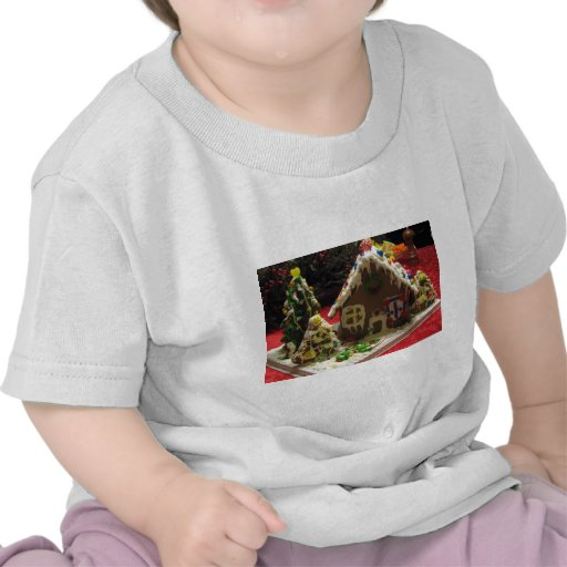 Gingerbread Cookie House Tshirt