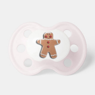 Gingerbread Cookie Pacifier