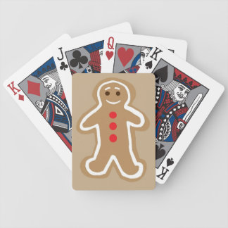 Gingerbread Cookie Playing Cards