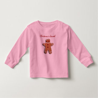 Gingerbread Cookie Toddler T-shirt