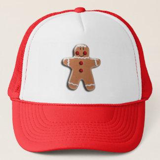 Gingerbread  Cookie Trucker Hat