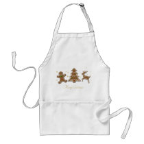 Gingerbread Cookies - Apron