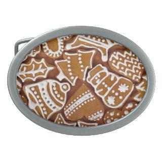 Gingerbread Cookies Belt Buckle