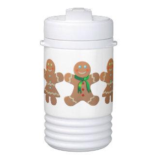 Gingerbread Cookies Beverage Cooler