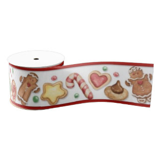 Gingerbread Cookies & Candy Ribbon