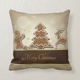 Gingerbread Cookies - Christmas Pillow