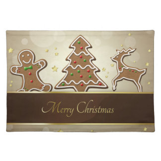 Gingerbread Cookies - Cloth Placemat