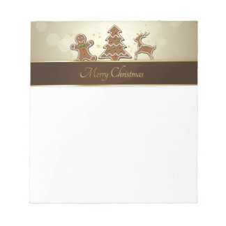 Gingerbread Cookies - Notepad