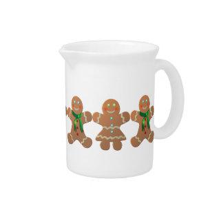 Gingerbread Cookies Pitcher