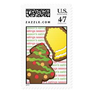 Gingerbread Cookies Postage